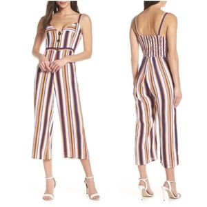 "Faithfull the Brand ""Scout"" Stripe Jumpsuit 4"